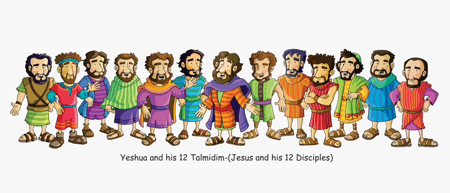 Yeshua y los 12 Discipulos